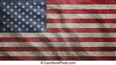 Grunge raubte USA-Flagge