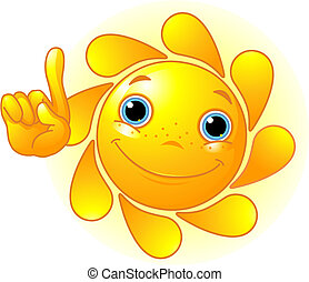 Hübsche Sonne