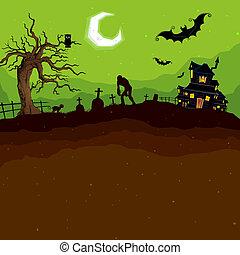 Halloween-Abend