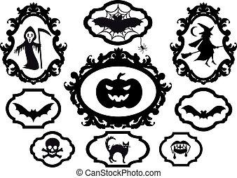 Halloween-Bilder, Vektor