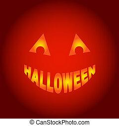 Halloween Geist, Vektor.