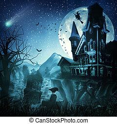 Halloween-Hintergrund für dein Design deaktivieren