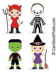 Halloween-Kinderkostüm