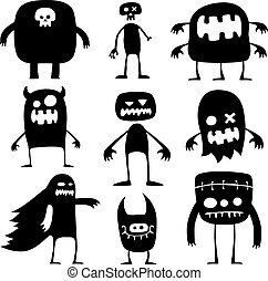 halloween, monster