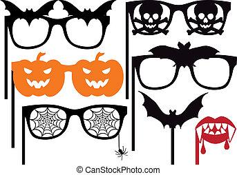 Halloween-Requisiten, Vektor