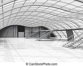 Hallway-Architektur