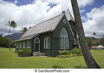 Hanalei grüne Kirche