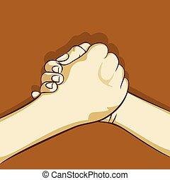 Hand- oder Bond-Design.