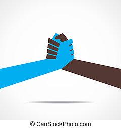 Hand- oder Handschütteln