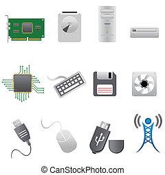 hardware, computerteile