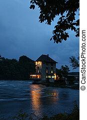 Haus an der Rhine