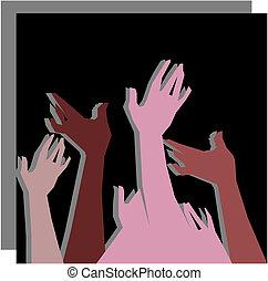 Heiße Hände