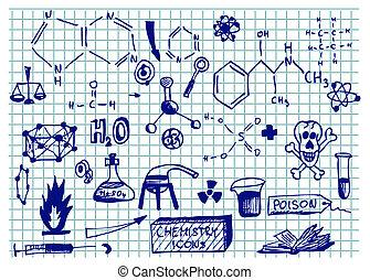 heiligenbilder, chemie