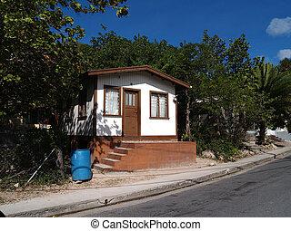 Heim in Antigua Barbuda.