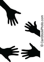 Helfende Hand, abgemacht