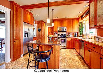 Helles, schönes Küchenzimmer Design