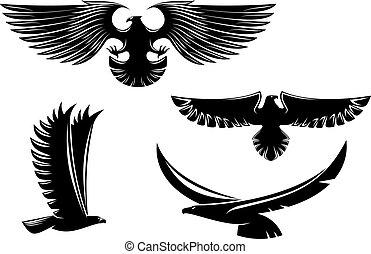 Heraldry Eagle-Symbol und Tattoos