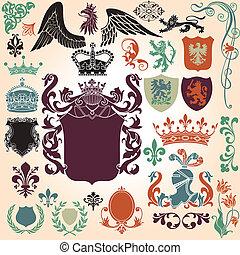 Heraldry Ornamentset