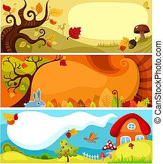 Herbstkarten-Set