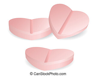 Herzform der Medizin