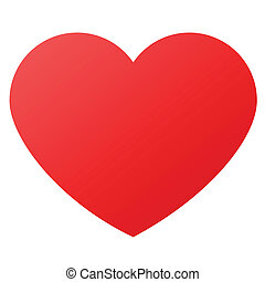 Herzform für Liebessymbol