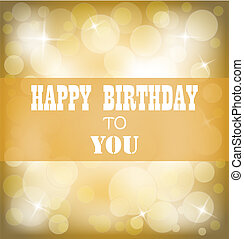 Herzlichen Glückwunsch zum Geburtstagsschild-Design.
