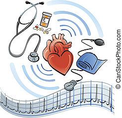 Herzversorgung.