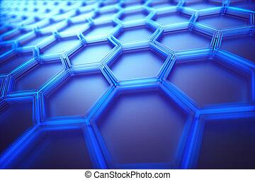 Hexagonale Verbindungstechnik