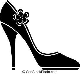 High-Heel-Schuhe (Silhouette)