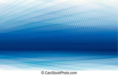 hintergrund, blaues, modern, abstrakt, perspektive