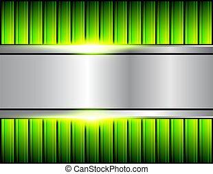 Hintergrund grün.