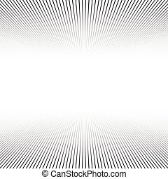 hintergrund., linien, perspektive
