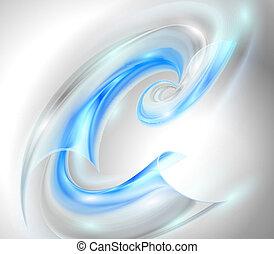 Hintergrund mit blauem Wirbel entfernen