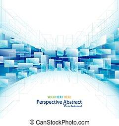 hintergrund., perspektive, abstrakt