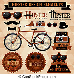 Hipster bereit.