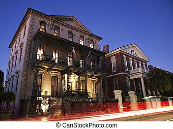 Historische Architektur von Charleston