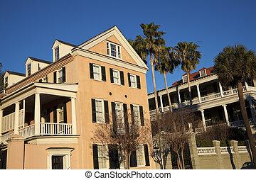 Historische Häuser in Charleston