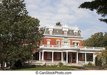 Historisches Ellwood-Haus in Dekalb
