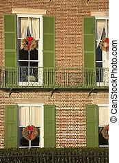 Historisches Haus in Charleston.