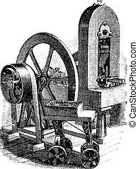 Hit Machine, Vintage Gravur