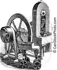 Hitmaschine, klassische Gravur