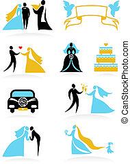 Hochzeits-Ikonen - zwei