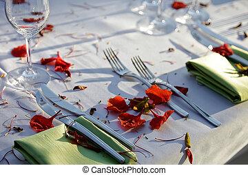 Hochzeitsempfang.