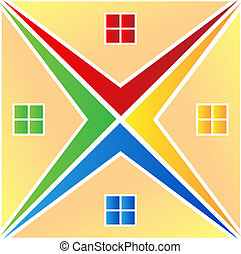 Houses Logovektor