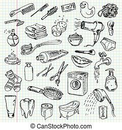 hygiene, produkte, putzen