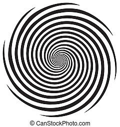 Hypnose-Spiralemuster