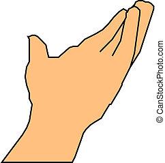 Ich biete eine helfende Hand an