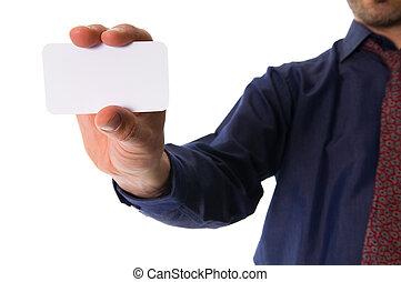 Ich gebe eine Karte