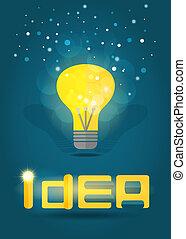 Idee. Vektor EPS10.