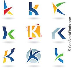 Ikonen für Buchstaben K deaktivieren